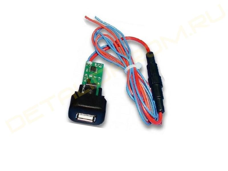 USB-зарядник Штат 1.2 вместо заглушки кнопки на ВАЗ 2110-2112, 2113-2115, Лада Калина, Шевроле Нива